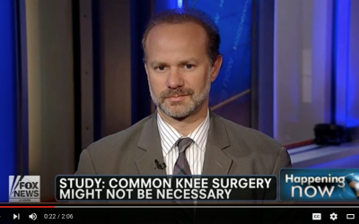 Dr. Ron Noy on Fox News: Meniscus Tears