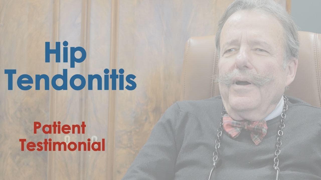 Hip Tendonitis Patient Testimonial Orthopedic Surgeon Nyc