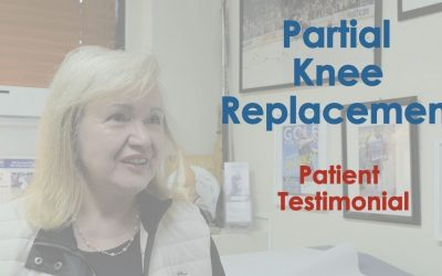 Robotic Partial Knee Replacement Testimonial