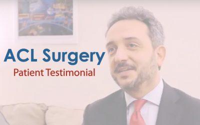 ACL Surgery Testimonial