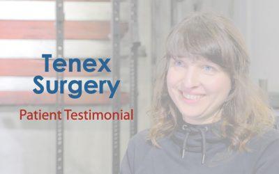 Tenex Surgery Testimonial